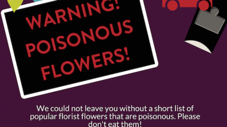Warning: Poisonous Flowers