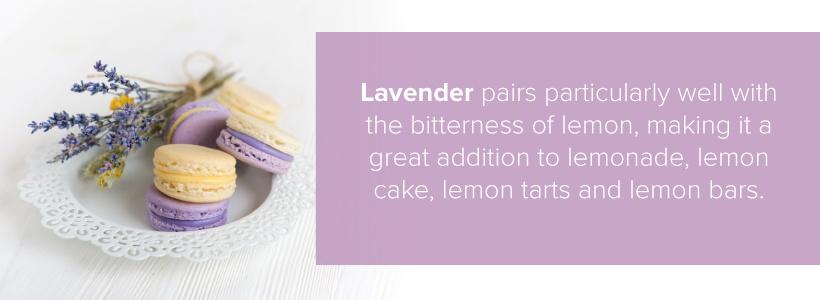 lavender and lemon