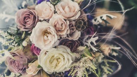 Rose Bouquet Centerpiece