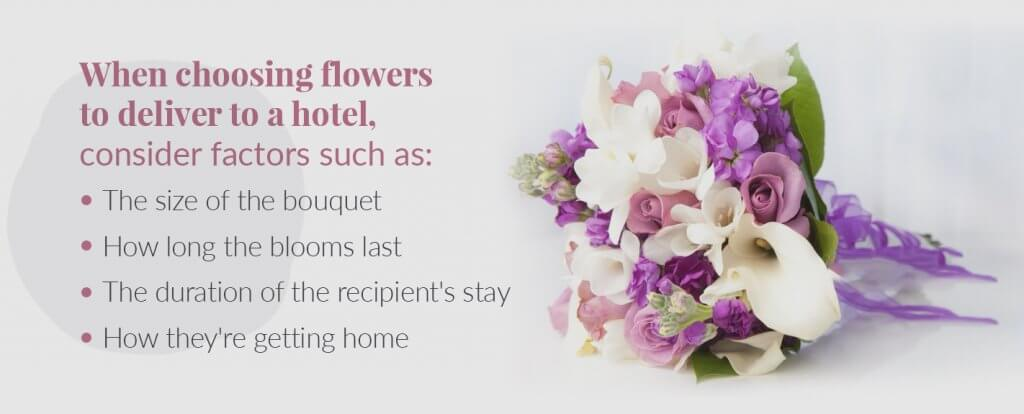 best flowers to send to hotel