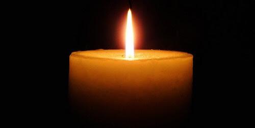 jewish condolences candle