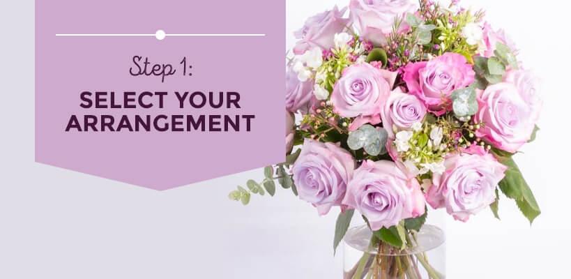 select your arrangement