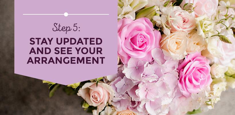 see your arrangement