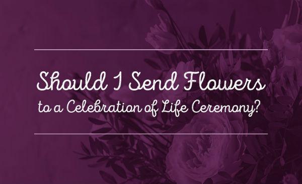 celebration of life flowers