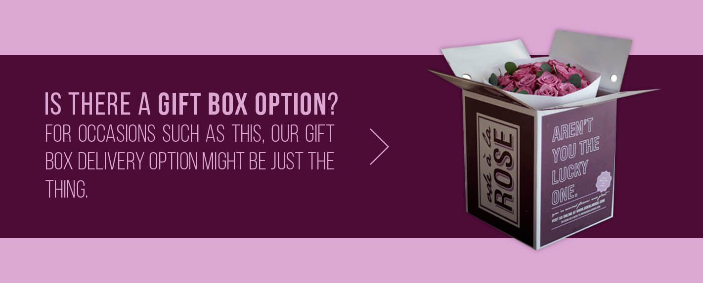 gift box option