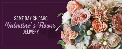 chicago valentines day flowers