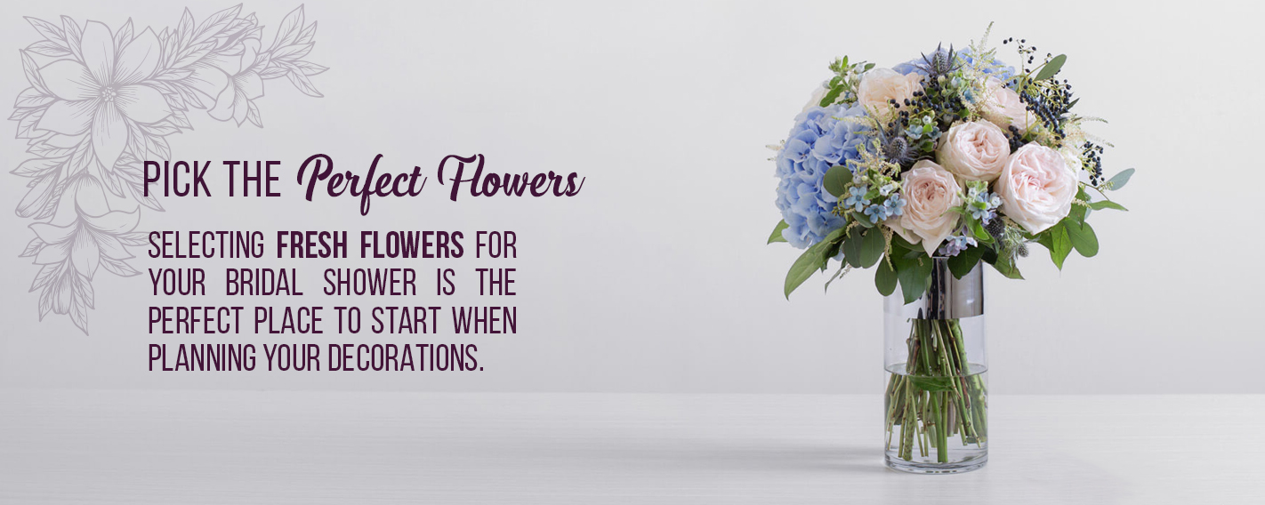 Plan The Perfect Floral Themed Bridal Shower Ode A La Rose