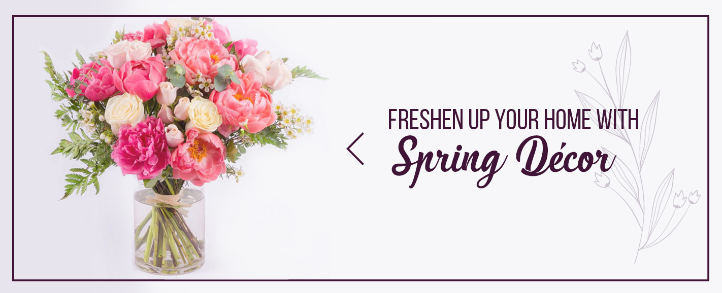 fresh spring decor