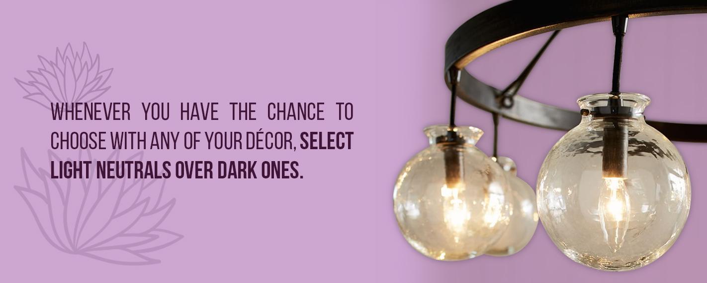 select light neutrals