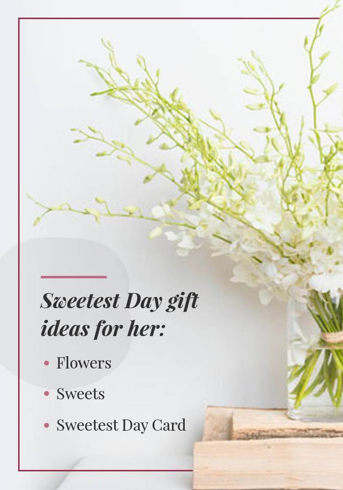 sweetest day gifts for her