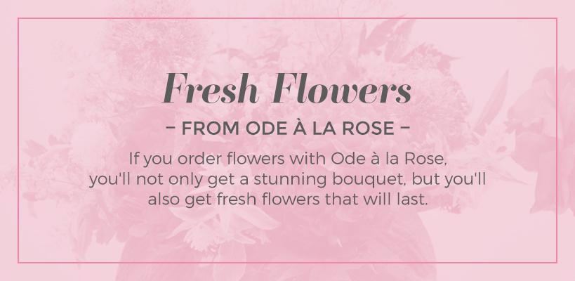 order fresh flowers