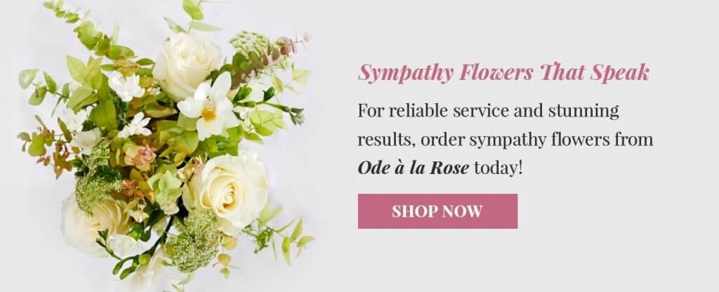 order sympathy flowers