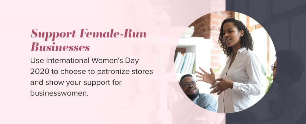 support female businesses
