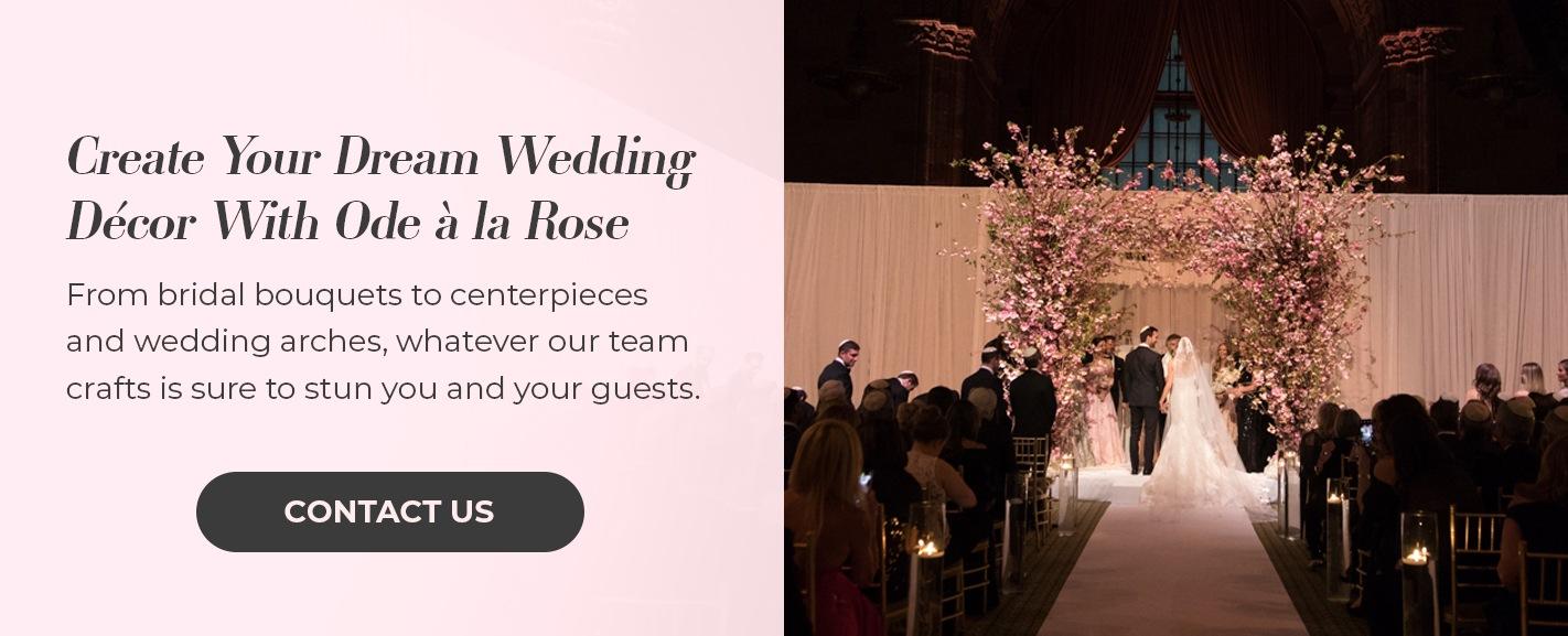 decorate wedding arch